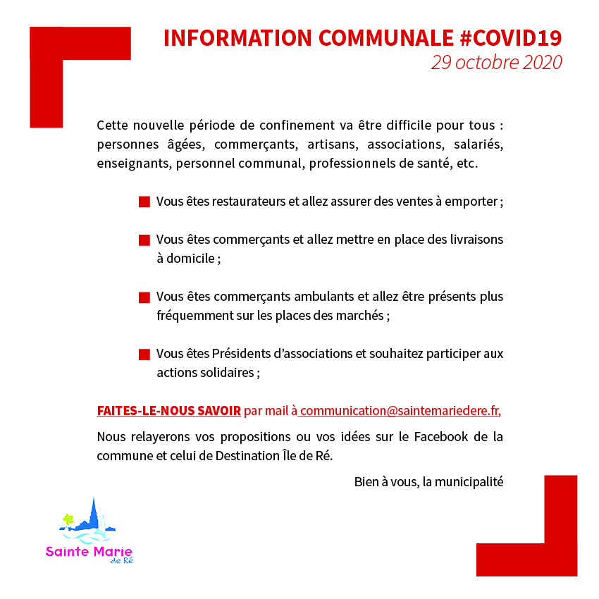 COMMERCANTS COVID19